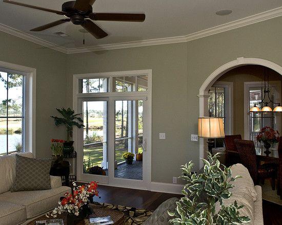 Ralph Lauren Cathedral Gray Bedroom Green Walls Living Room Dining Room Colors Living Room Color