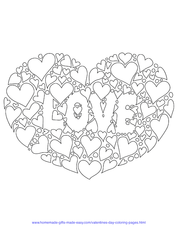 40 Valentine S Day Coloring Pages Pdf Printables In 2020 Heart Coloring Pages Love Coloring Pages Valentines Day Coloring
