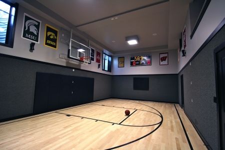 Portfolio Of Homes Oakley Home Builders Home Basketball Court Home Gym Flooring Home Gym Design