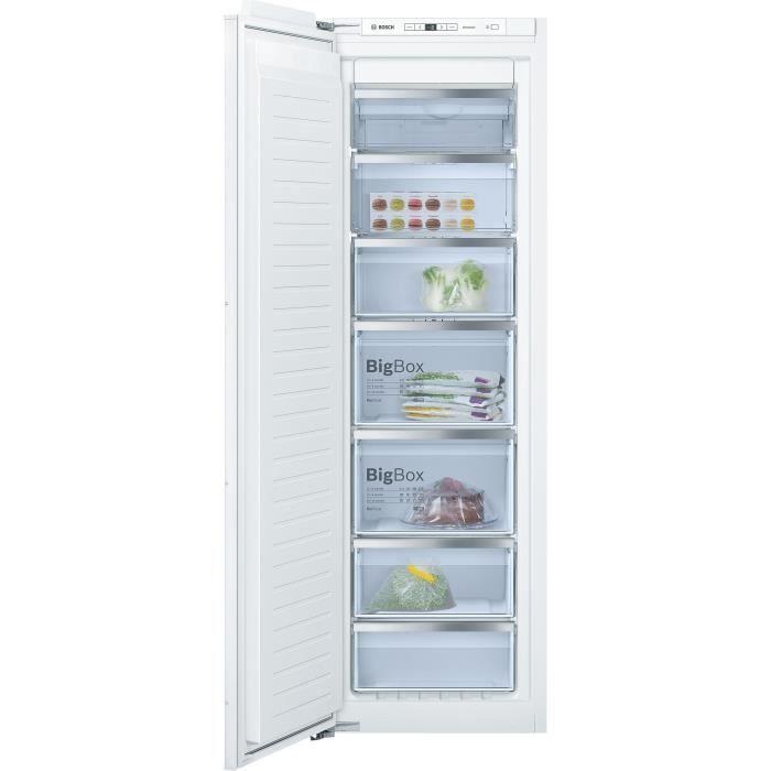 BOSCH GIN81AE30 Congélateur armoire intégrable 211L