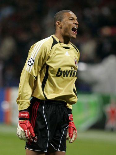 Nelson Dida Ac Milan Goalkeeper Milan
