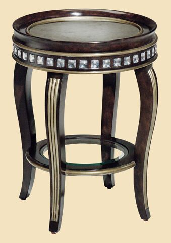 Marge Carson Chairside Table Custom Order At Mathis Brothers