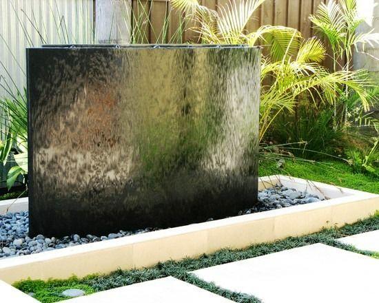 Wasserwand Selber Bauen Gartenwasserspiele Im Garten Gestaltung Von