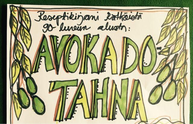 design inkamaria: Avokadotahnaresepti