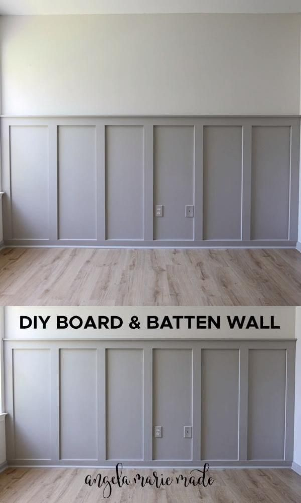Photo of Easy DIY Board and Batten Wall – Angela Marie Made