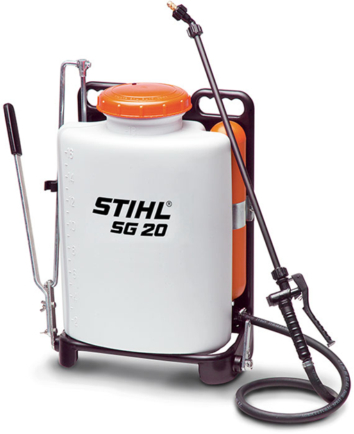 Sg 20 Manual Backpack Sprayer Professional Use Backpack Blower Stihl Sprayers Mower