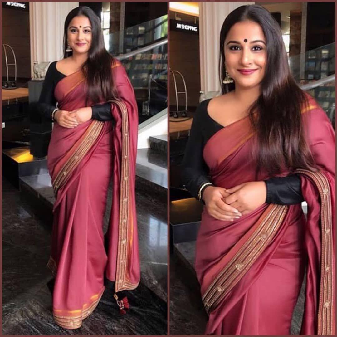 Actress Vidya Balan Latest Saree Poses | Vidya Balan New Photos | VidyaActress Vidya Balan Latest Saree Poses | ThatisY.com | Saree poses, Saree, Saree photoshoot