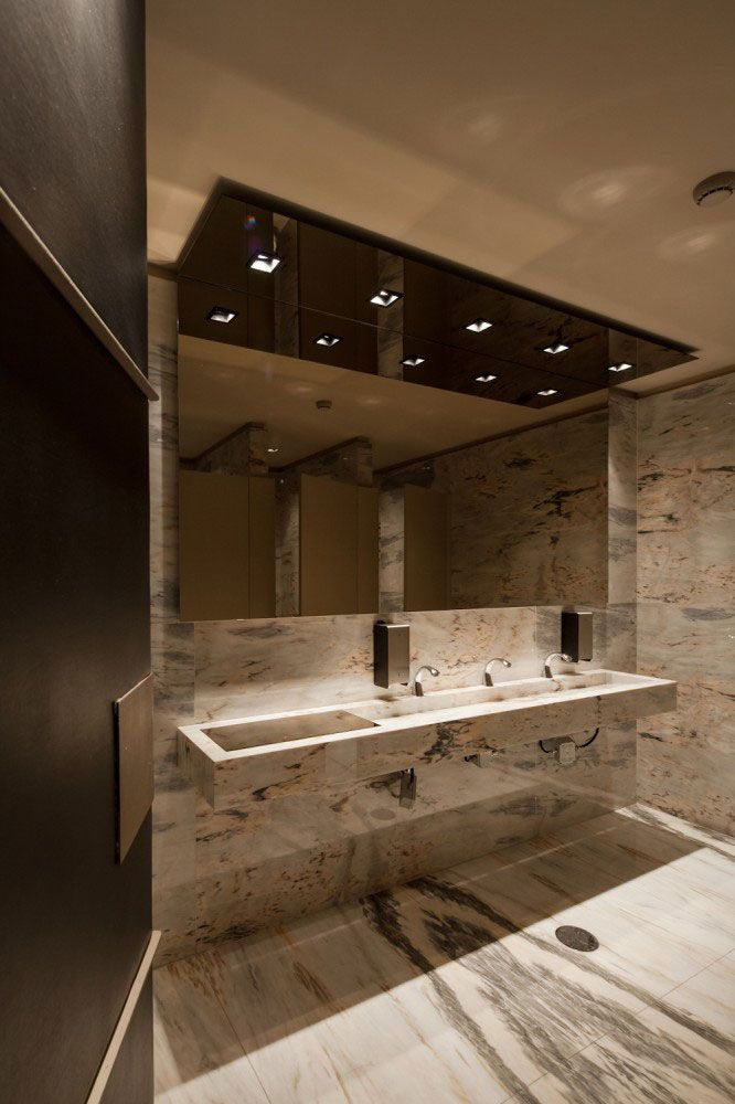 Public restroom design photos architecture by vismaracorsi arquitectos interior design Public bathroom design architecture