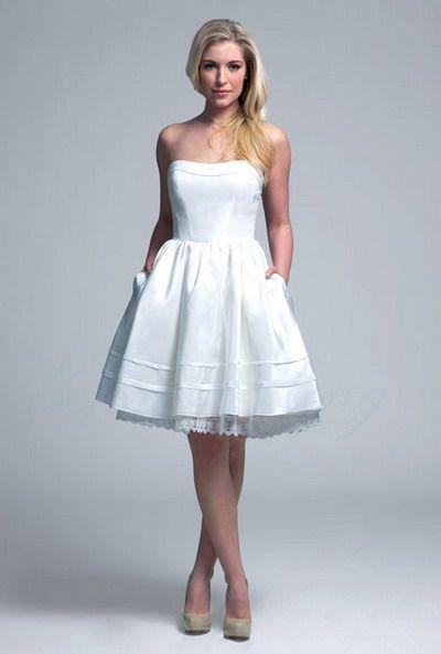 Wedding Dresses With Pockets Style Ideas : short wedding dresses ...