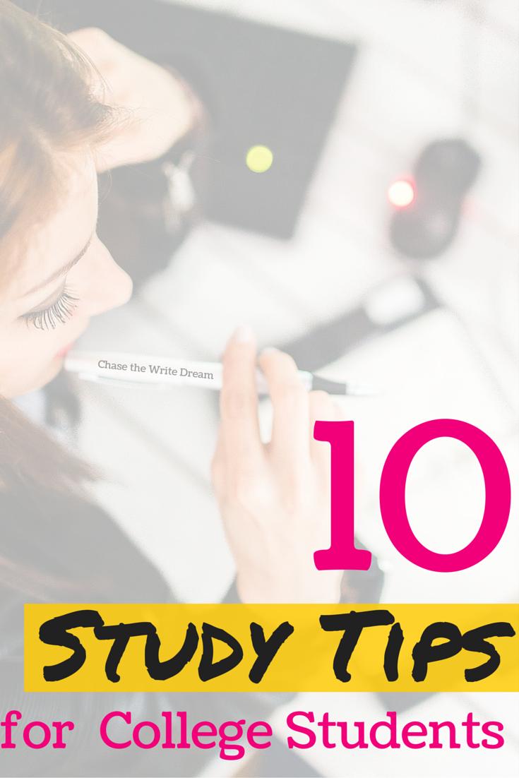 college study tips - 735×1102