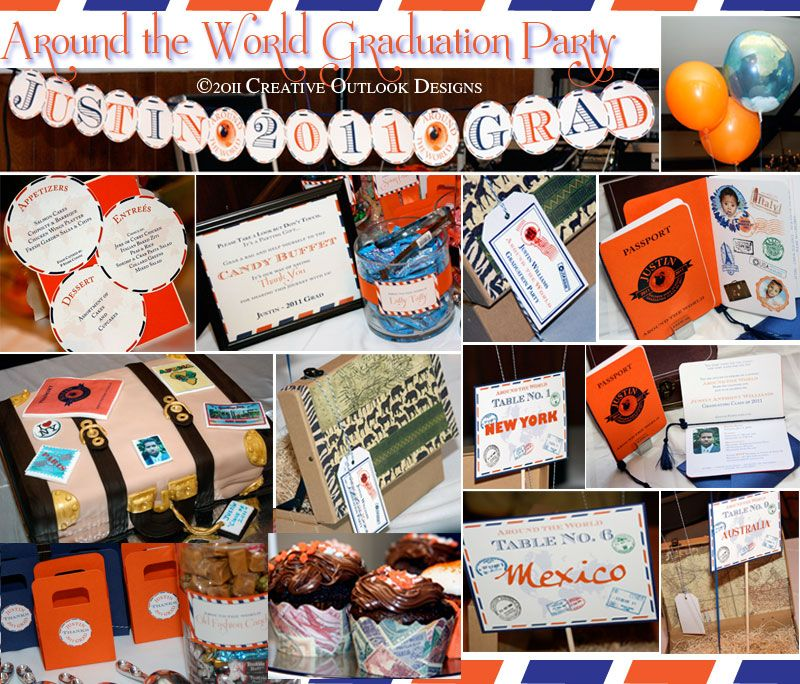 Around The World Graduation Party