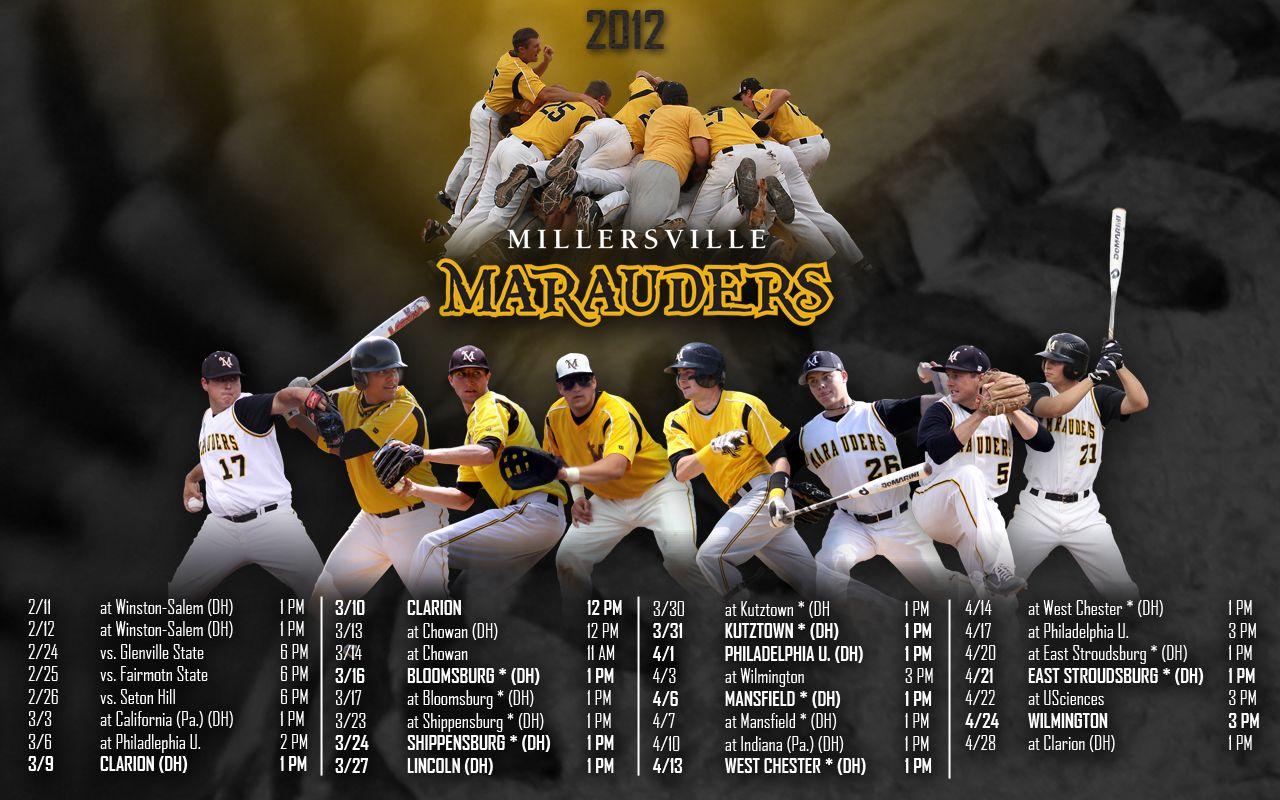2012 Millersville Baseball Wallpaper Baseball Wallpaper Millersville University Millersville