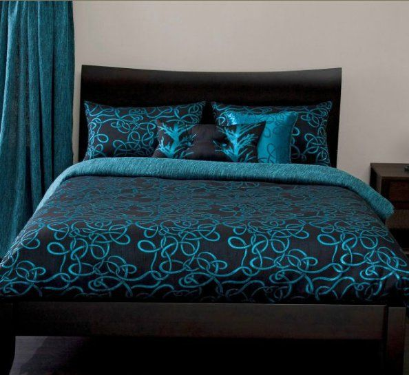 Michael Payne Twisty Vine Turquoise Bedding By Michael