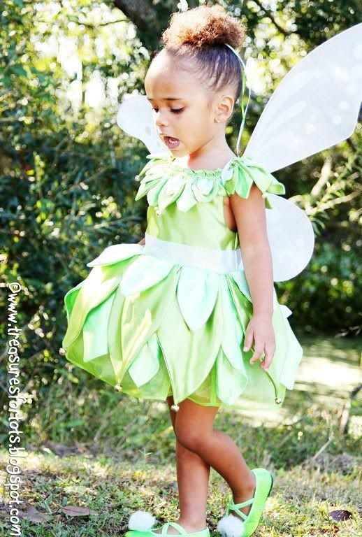 tinkerbell homemade costume | POST-IT-NOTE : Check out this easy and ...