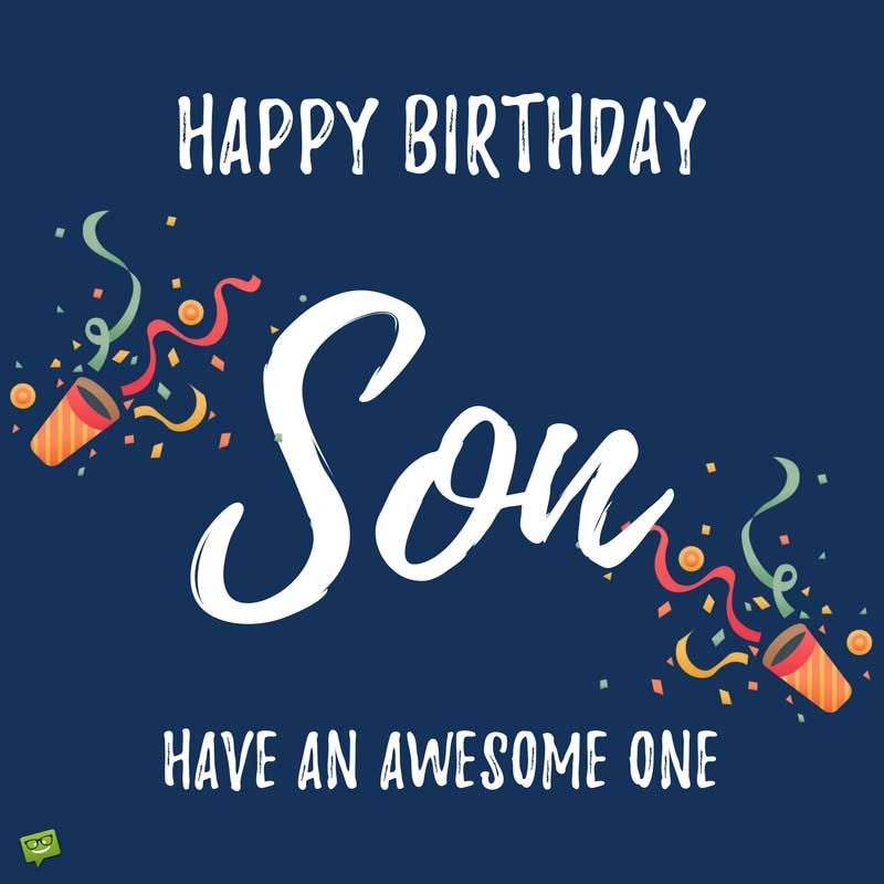 Afbeelding van Verjaardag zoon van Ivonne van der Meulen