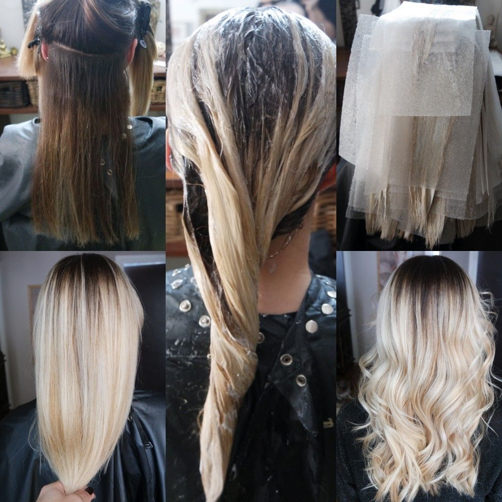 Balayage Blonde Ombré Olaplex Joico Bymia Marseille