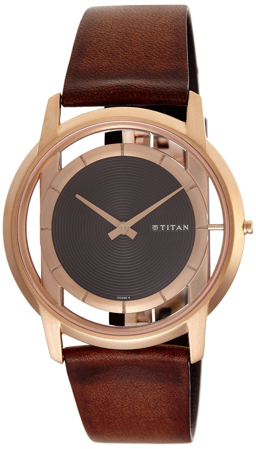 titan edge analog brown dial menu0027s watch 1577wl01 titan is the worldu0027s fifth largest wrist watch and exports watches to nearly 32 countries