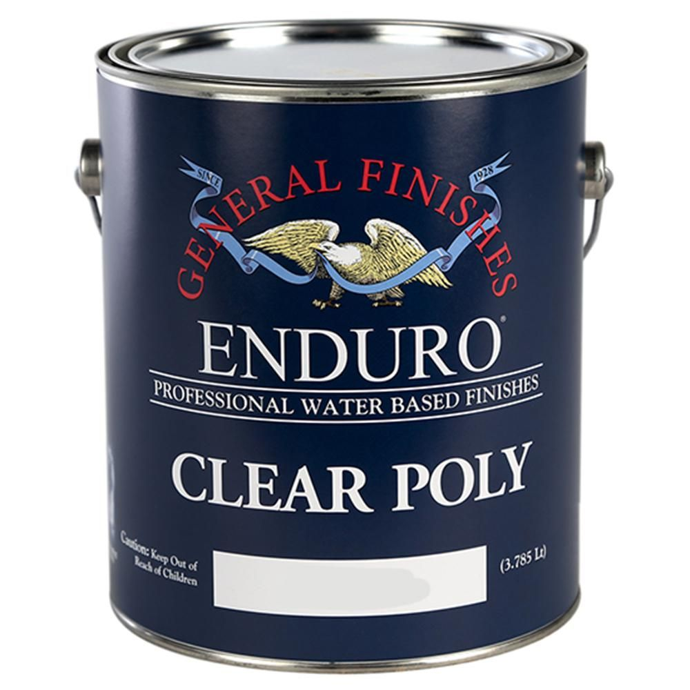 General Finishes 1 Gal Satin Enduro Clear Poly Interior Topcoat General Finishes Milk Paint Water Based Wood Stain