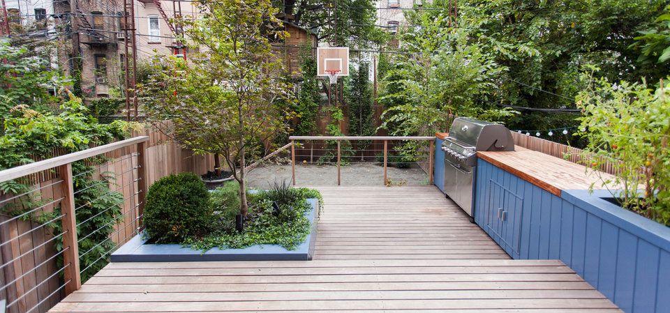 Brook Landscape - SOUTH SLOPE - brooklyn-backyard-deck ...
