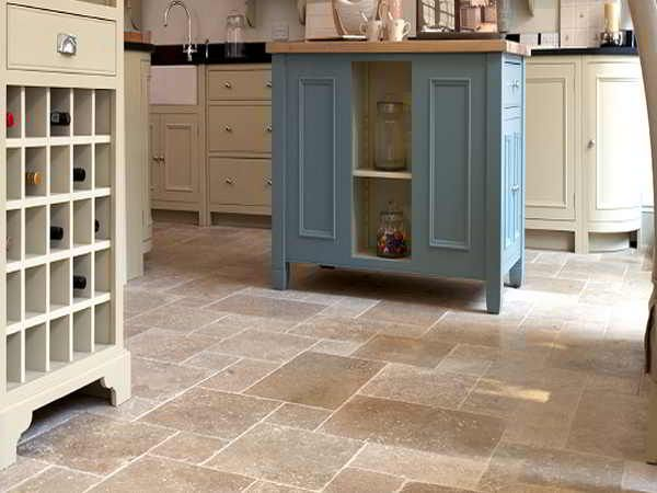 Natural Stone Flooring Kitchen