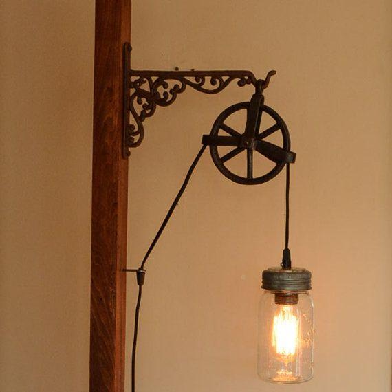Original Lamp Meubles Deco Recup Pinterest Lamparas Et Logia