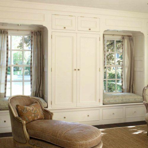 Window Wardrobe: WS15: Twin Window Seat With