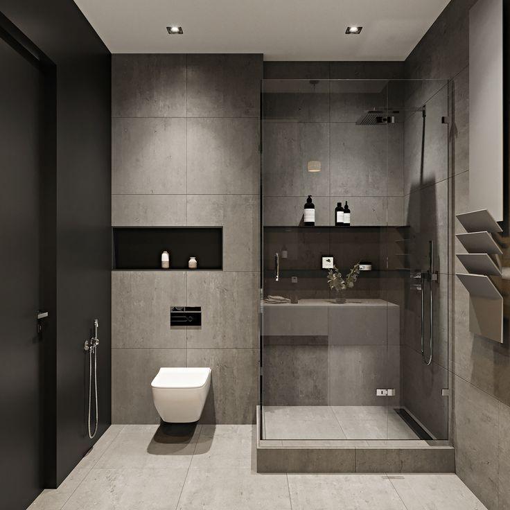 (881) Pinterest | Small washroom design, Modern bathroom ...