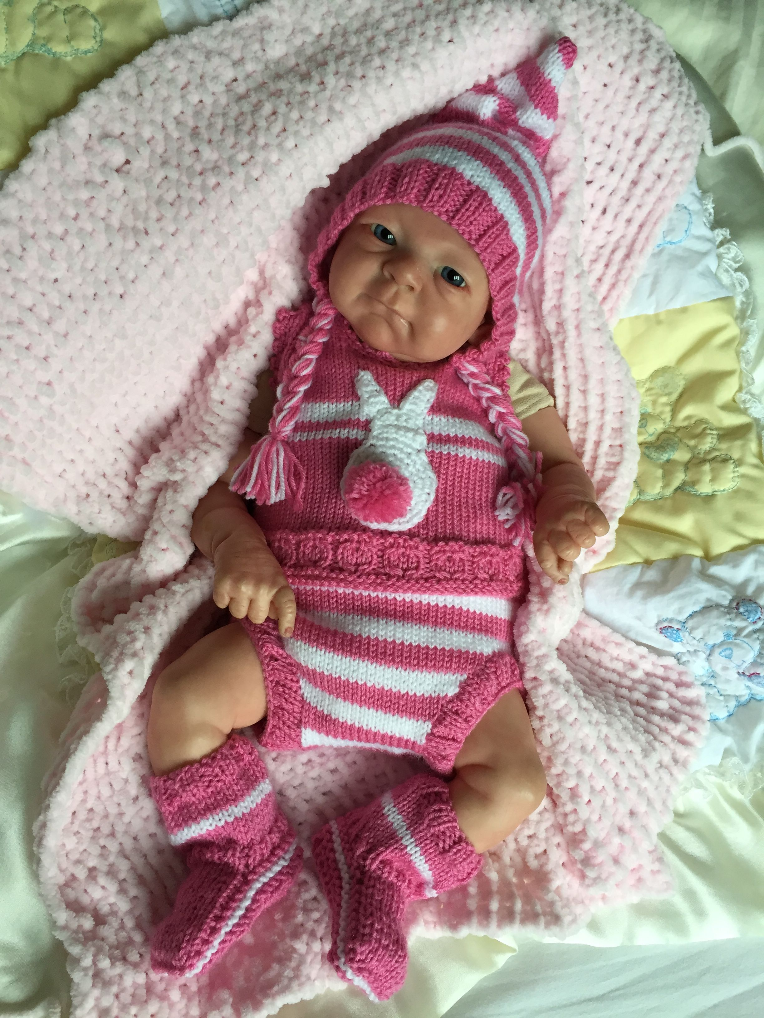 Knitting pattern available here http://www.piccolissimobaby.co.uk ...
