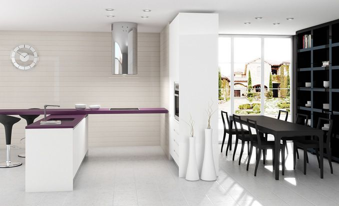 Cocinas integradas cocina casa nueva pinterest - Cocinas integradas ...