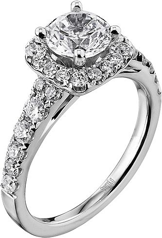 scott kay pave halo diamond engagement ring this diamond engagement ring setting by scott kay - Scott Kay Wedding Rings