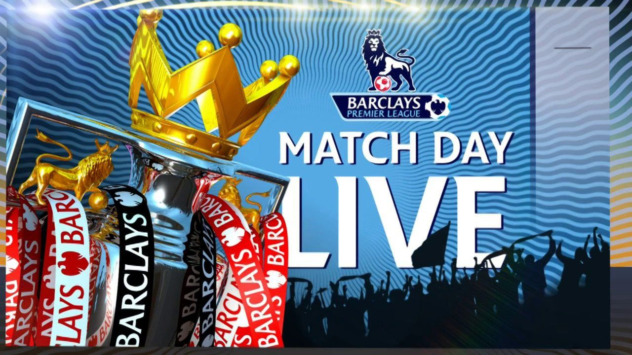 MATCH DAY LIVE TITLES   Premier league matches, Match ...