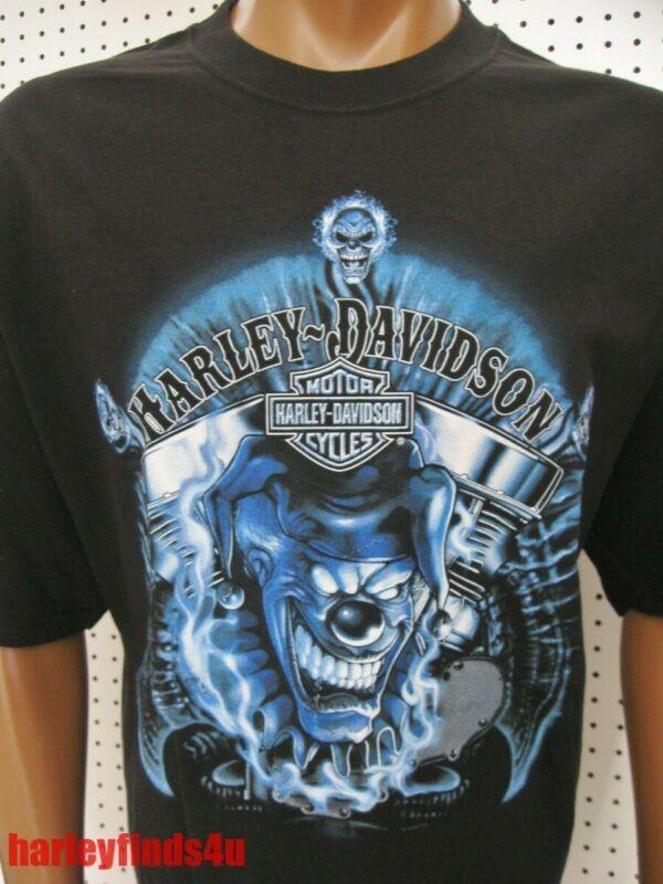 e41ecbc469 2XL nwt Mens HARLEY DAVIDSON  Happy Pan  Jester Panhead Tee Shirt ...