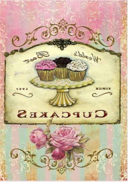 Sweets potchen vorlagen miniatur und basteln - Kuchen wanddekoration ...