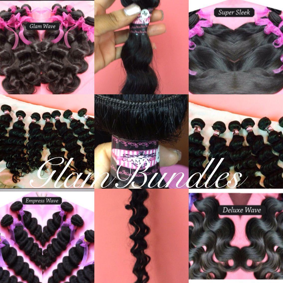 Glam bundles lush tresses love bouncy malaysian
