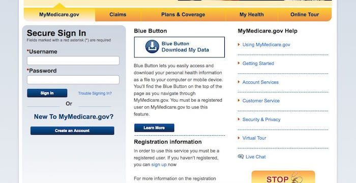 MyMedicare Gov Login | Login Archives | Login page, Website