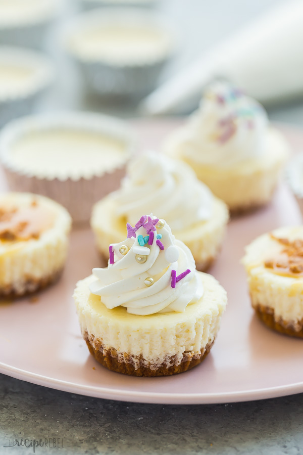 This Easy Cheesecake Cupcakes Recipe Mini Cheesecakes Is Simple To Make And Customize They Are Fr Easy Cheesecake Cheesecake Cupcakes Recipe Cupcake Recipes
