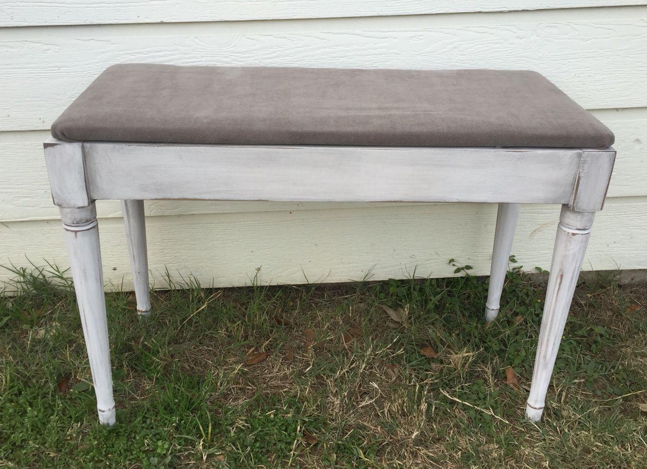 Stupendous Repurposed Piano Bench Window Seat Vintage 3 6 1 Vintage Uwap Interior Chair Design Uwaporg