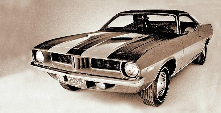 Black Gray Cuda Dream Cars Pinterest Factors Cars And - Cool collector cars