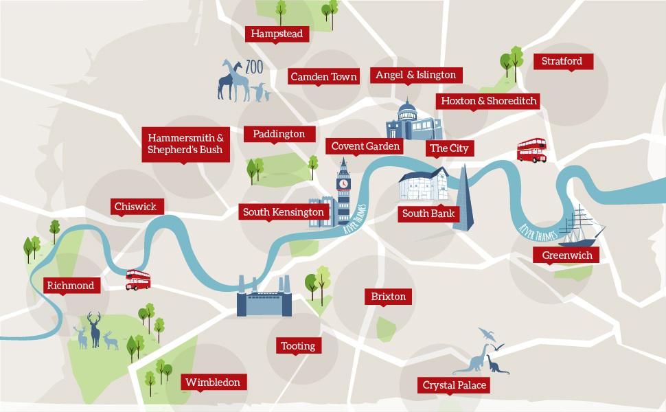 Area Map Of London.London Areas Map London London Neighborhoods London Map