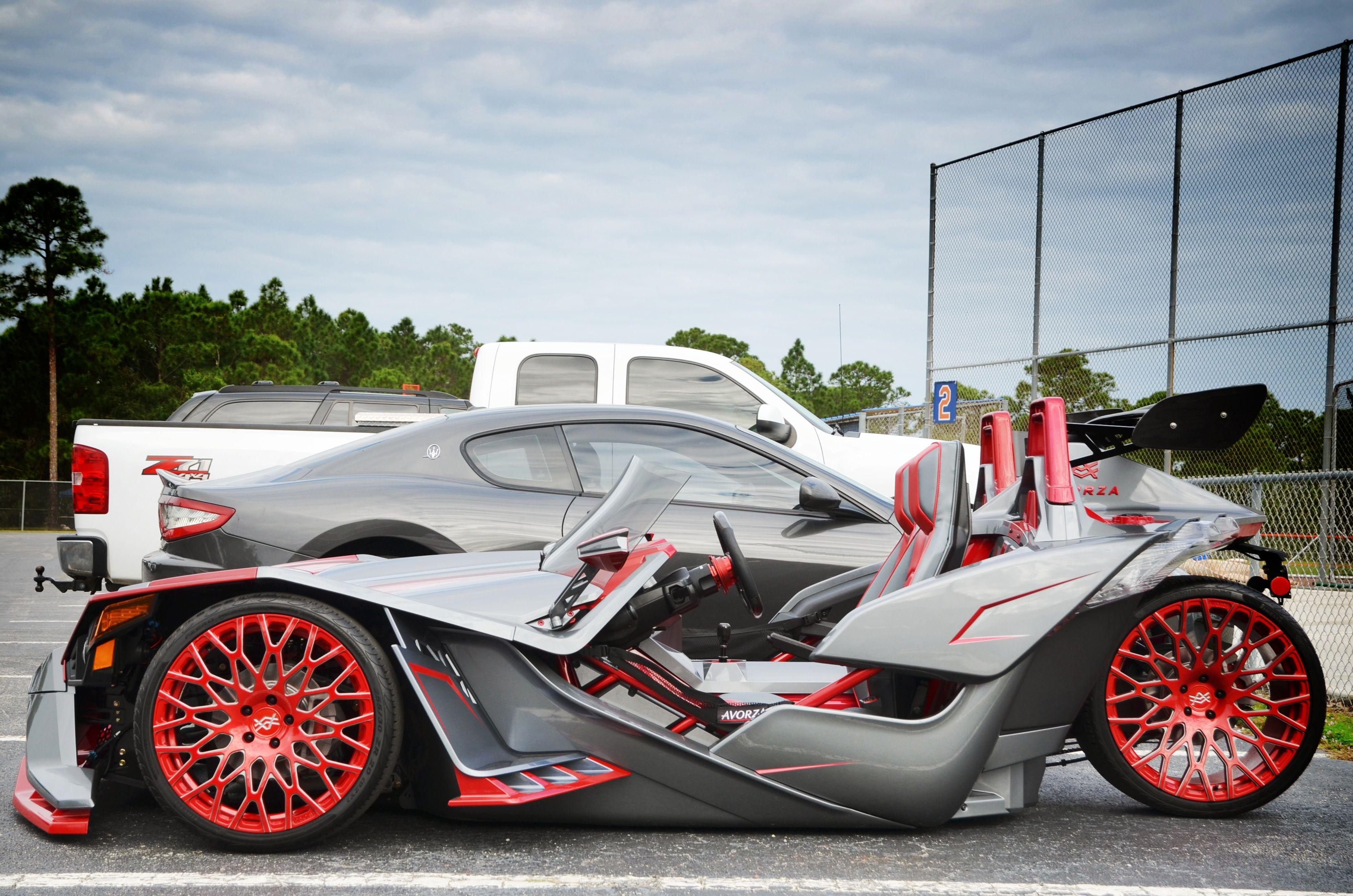 Move Over Matt Harvey Cespedes Is Driving The Batmobile Slingshot Car Polaris Slingshot Reverse Trike