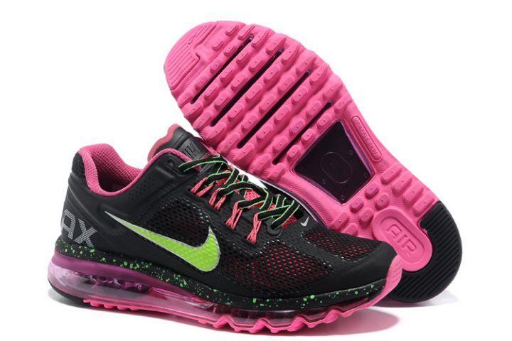 http://www.buyaushoes.com/7bu75-womens-nike -air-max-2013-trainerss-rose-black-green-australia-sale-p-926.htm… | Nike  shoes air max, Cheap nike air max, Nike air maxPinterest