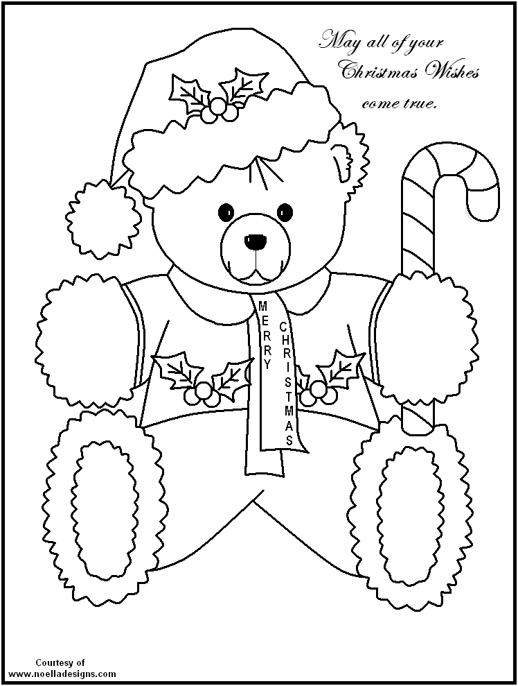 Free printable christmas coloring pages fun for all ages