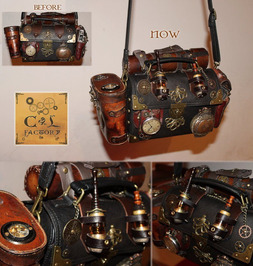 Finished Bfg76yvy By Bag My Own Cirdann72lo 2 New Besace Sac Steampunk 1TKlFJc