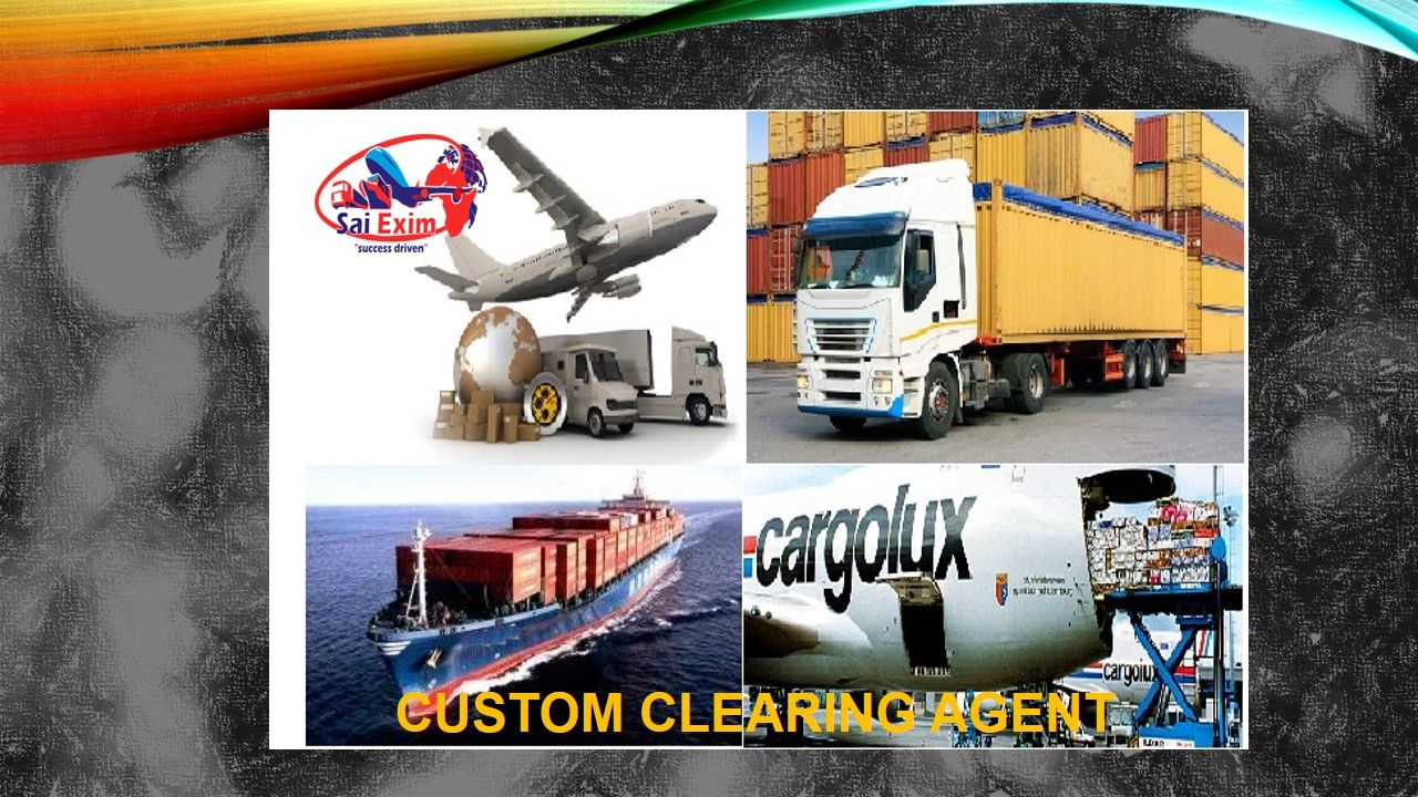 Custom clearance is not a layman work as it needs qualified