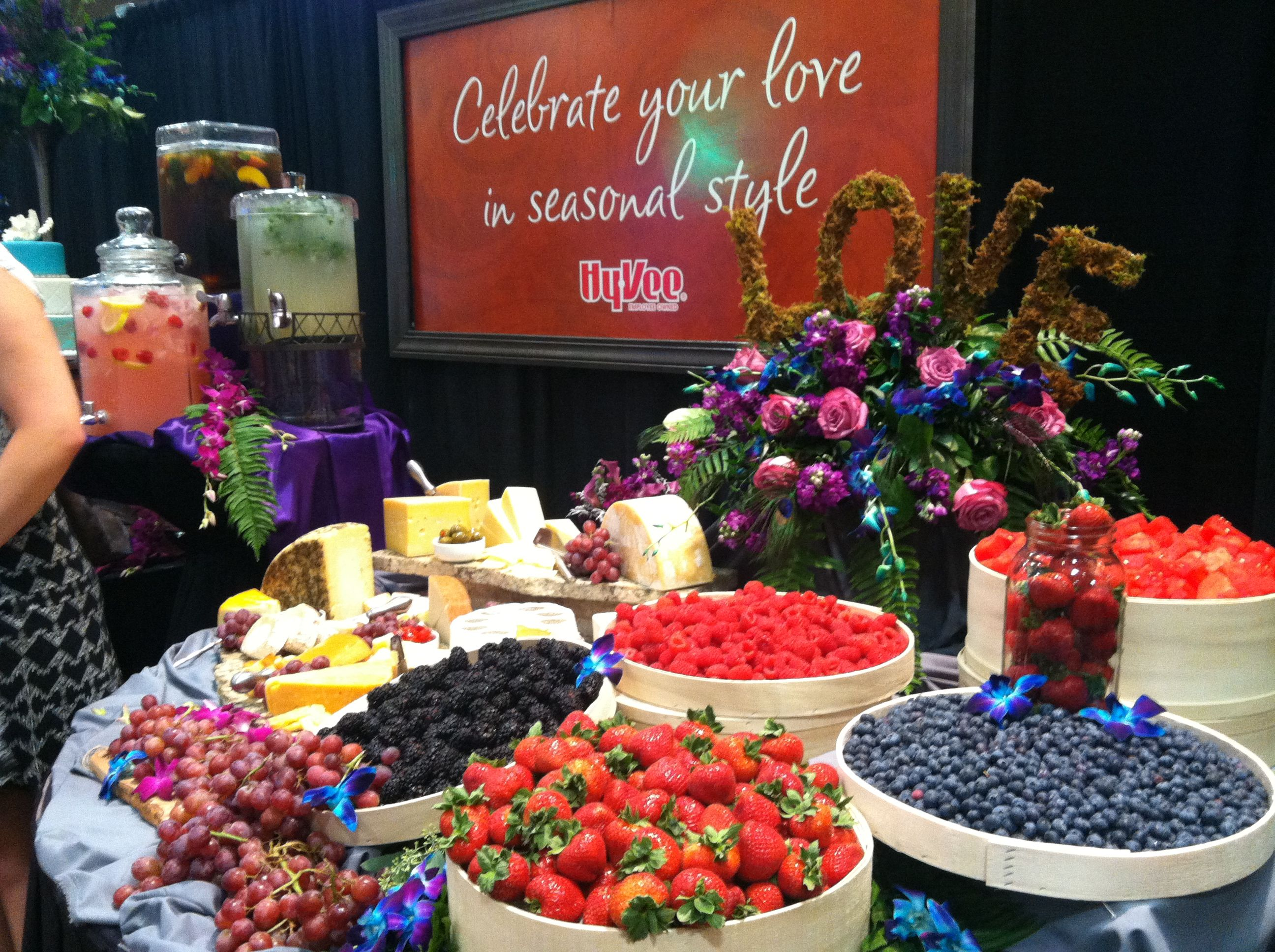 Hy Vee Catering Fruit Display Gorgeous Tasty Beautiful This Is My Kind