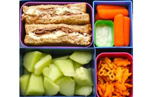Great healthy lunch ideas for kids! @ Erin Klingman