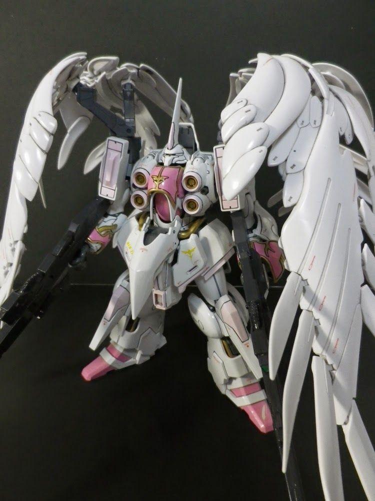 "Custom Build: HGUC 1/144 Kshatriya ""Wing Gundam Zero EW Binders"" - Gundam Kits Collection News and Reviews"