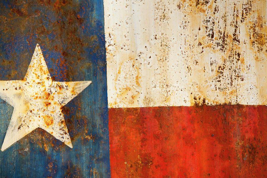 Rusty Texas Flag Rust And Metal Series By Mark Weaver Texas Flags Texans Loving Texas