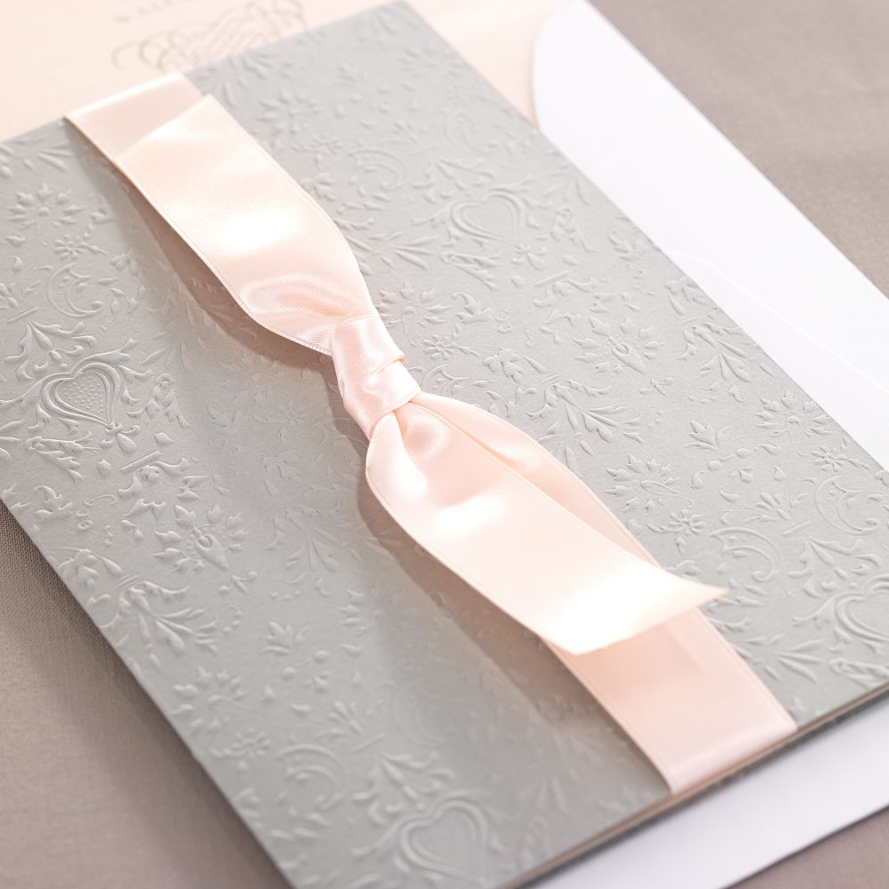 Victoria Wedding Invitations From The BRIDES Fine Papers Collection By Checkerboard In A Palette