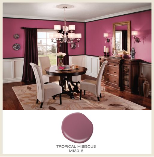 Colorful Rooms With A View: See The World Through Rose-colored Glasses! Bright Pink